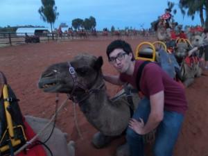 matt with a real live camel