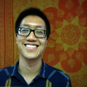 Jeff Shi smiling