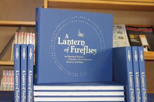 image of a lantern of fireflies