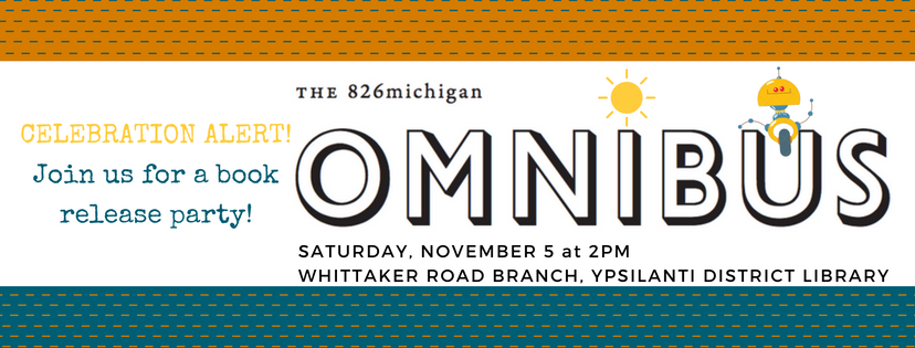 Join us as we unveil OMNIBUS VIII, an anthology of fantastic student writing from across the region.