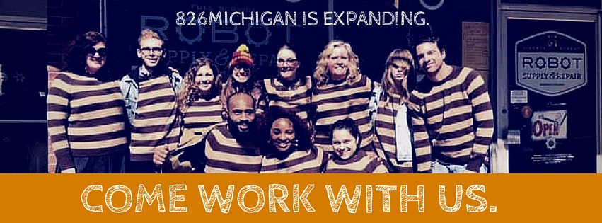 There are three exciting ways to join the 826michigan team! Learn more here.
