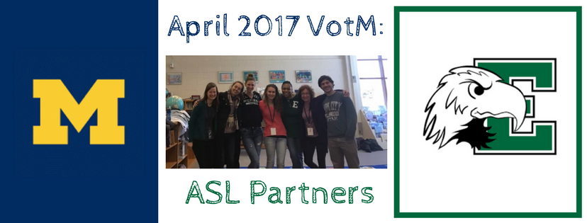 Our ASL Partners areVolunteers of the Month!