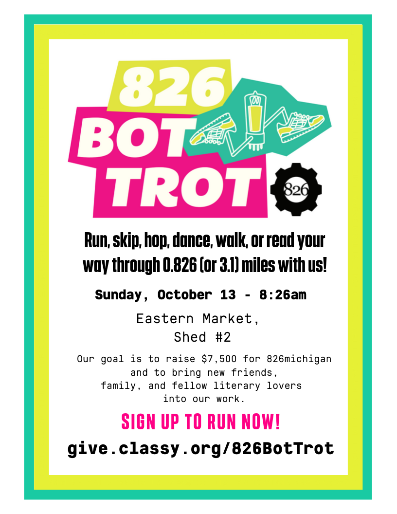 visit give.classy.org/826BotTrot to donate or register to run today!