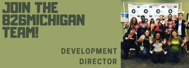 Apply to be our new Development Director.