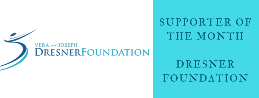 Dresner Foundation is April's Supporter of the Month!