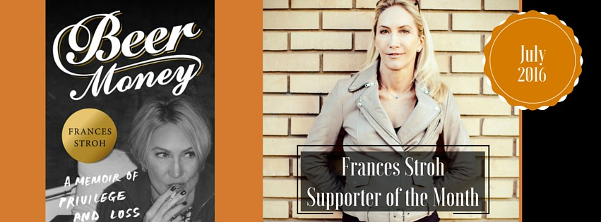 Author and Artist Frances Stroh is 826michigan's Supporter of the Month!