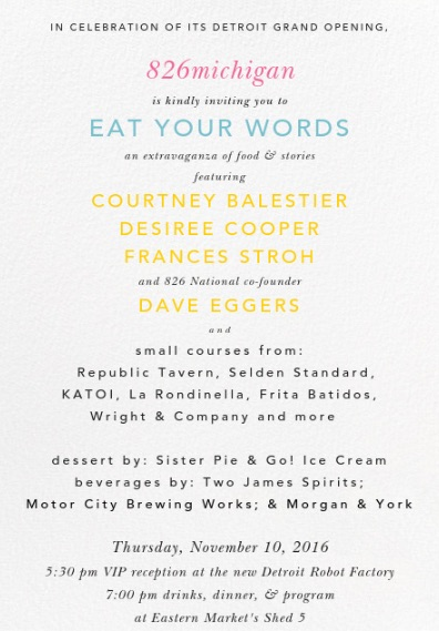 Eat Your Words Invite in JPEG