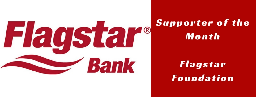 Flagstar Foundation is April's Supporter of the Month!