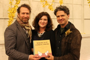 Kevin Spall, Amanda Uhle, and Dave Eggers