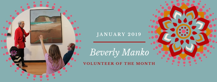 Beverly Manko is our Volunteerof the Month!