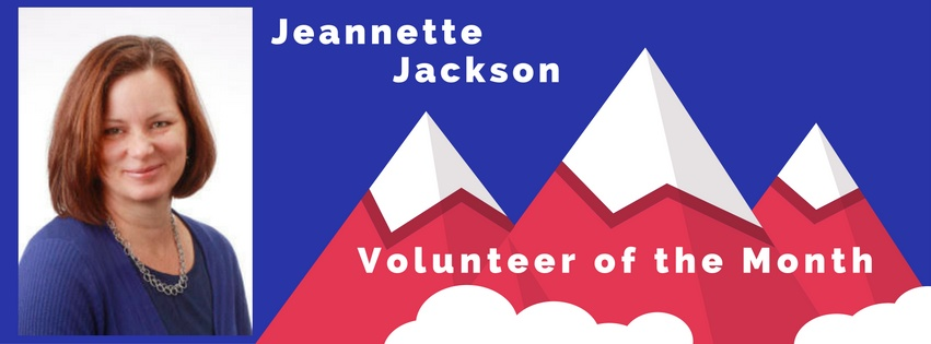 Jeannette Jackson is our Volunteers of the Month!