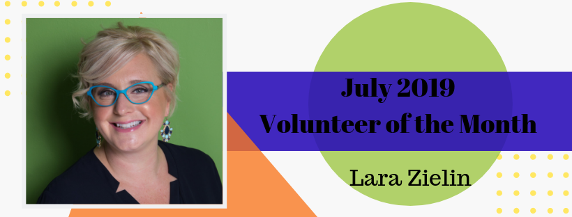 Lara Zielin is our Volunteer of the Month!