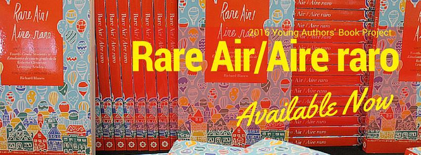 Rare Air/Aire raro is here! Visit onwardrobots.com today to order your very own copy.