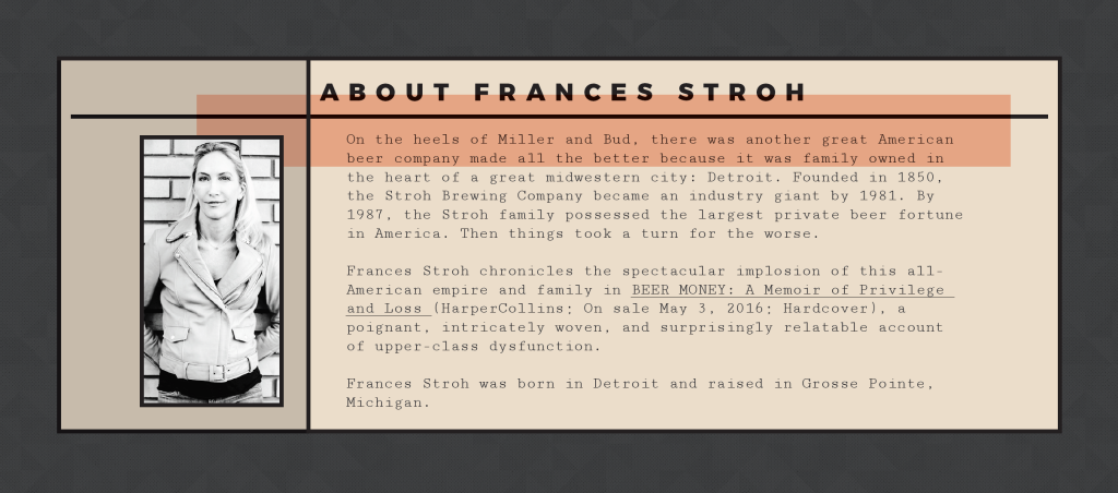 About Frances Stroh