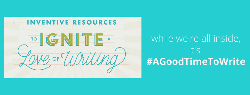Whether we're together or apart, it's #agoodtimetowrite