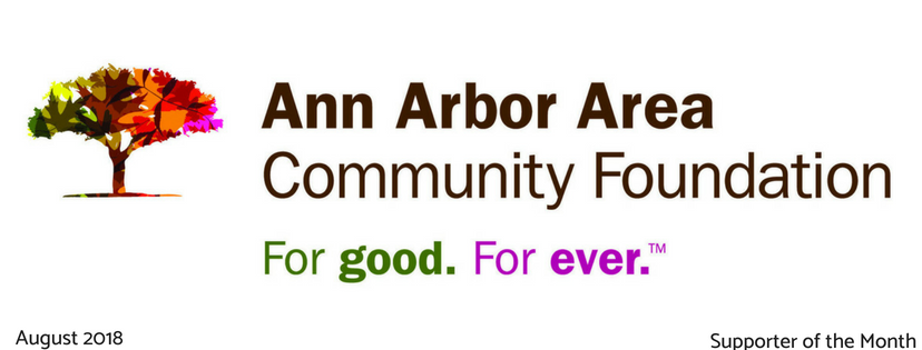 The Ann Arbor Area Community Foundation is Supporter of the Month!