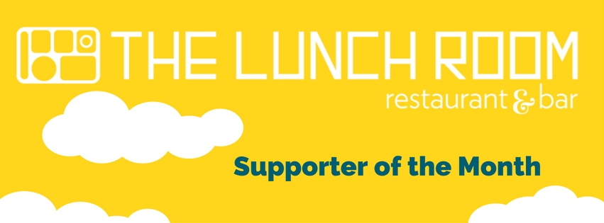 The Lunch Room Restaurant and Bar is 826michigan's Supporter of the Month!