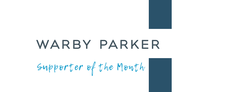 The Warby Parker Pencil Roomis Supporter of the Month!
